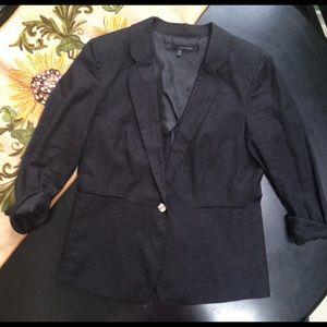 🎈Harve Benard Black Linen Blazer